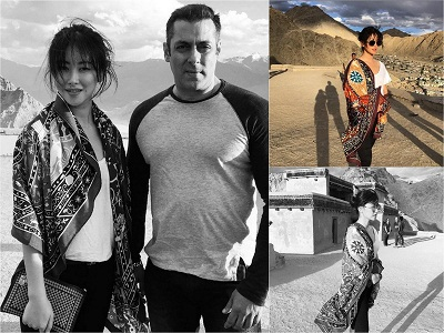 Salman Khan will be seen romancing with zhu-zhu in 'tubelight'