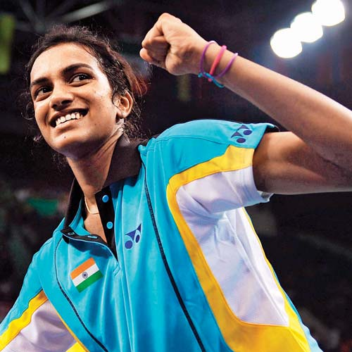 Sindhu ' gold' brought forward to bring Carolyn Marin will compete in the finals