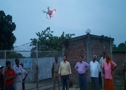 Camera drones will look at those open defecation