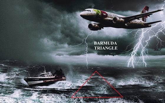 Bermuda Triangle ' , has disappeared in many ships