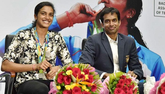 Sindhu dismissed Telangana minister's offered , said my best coach Gopichand