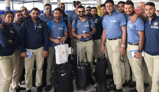 India - West Indies T20 : india team arrived the US