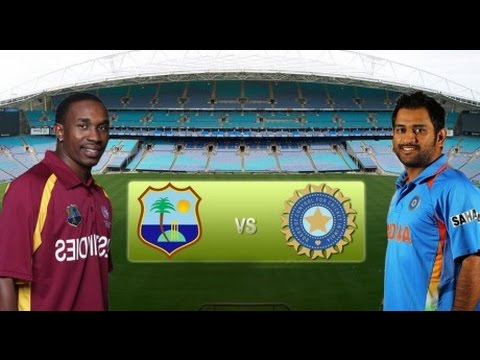 27 INDIA faces WEST INDIES in america today