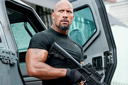 Dwayne Johnson world's highest -earning actor