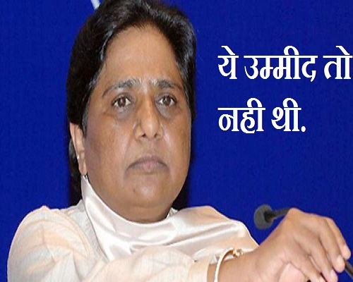 mayawati alert party works