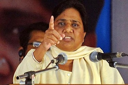 mayawati satire over sp rajat jayanti programme