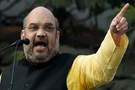 bjp chief amit shah in lucknow for man ki baat program