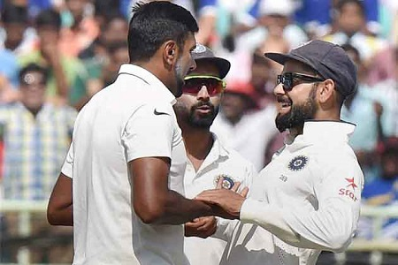 virat kohli test team won the match by 246 runs from england