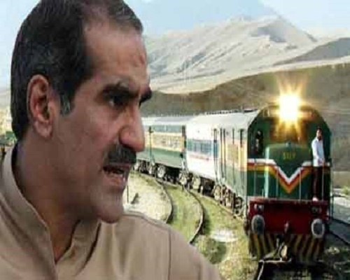 pak rail minister says pakistan is not abel to take spance of  bullet train