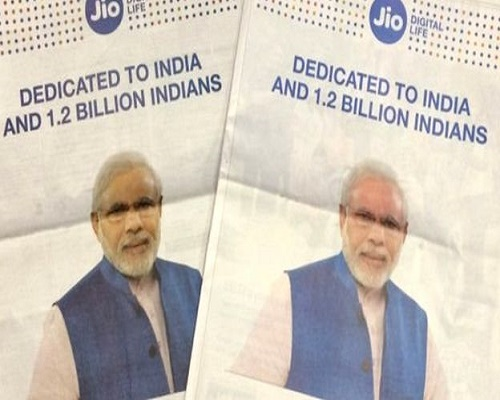reliance-jio-could-face-rs-500-fine-for-using-pm-narendra-Modis-picture-in-advertisement