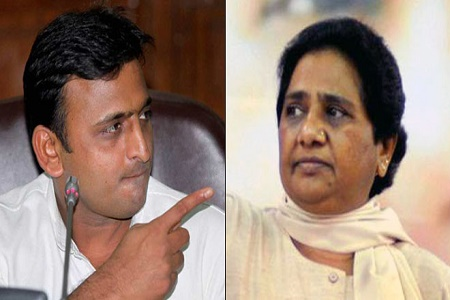 complaint file against bsp chief mayawati for saying abusive word to akhilesh yadav