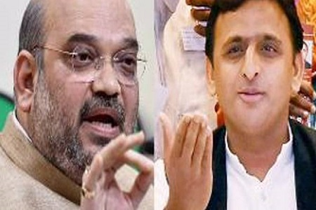amit shah attack over up cm akhilesh yadav over note ban issue