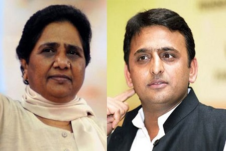 mayawati attack over cm akhilesh obc decision