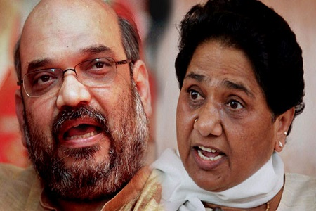 mayawati attack over bhartiya janta party