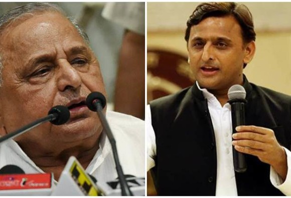 samajwadi-party-feud-clash-between-akhilesh-mulayam-continuous