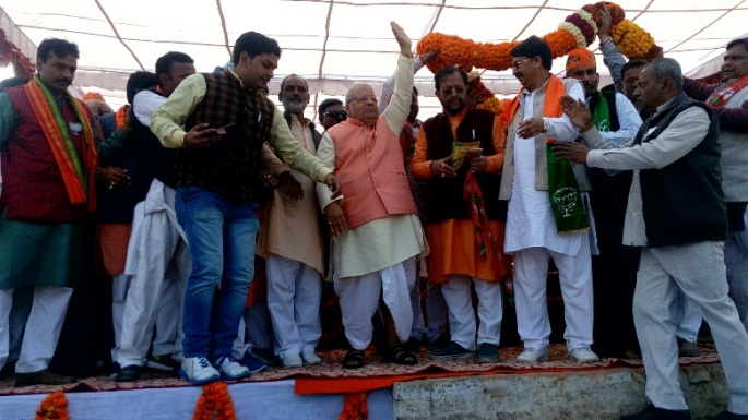 bjp-candidate-shuresh-khanna-file-nomination-shahjahanpur-kalraj-mishra-reached-rally-