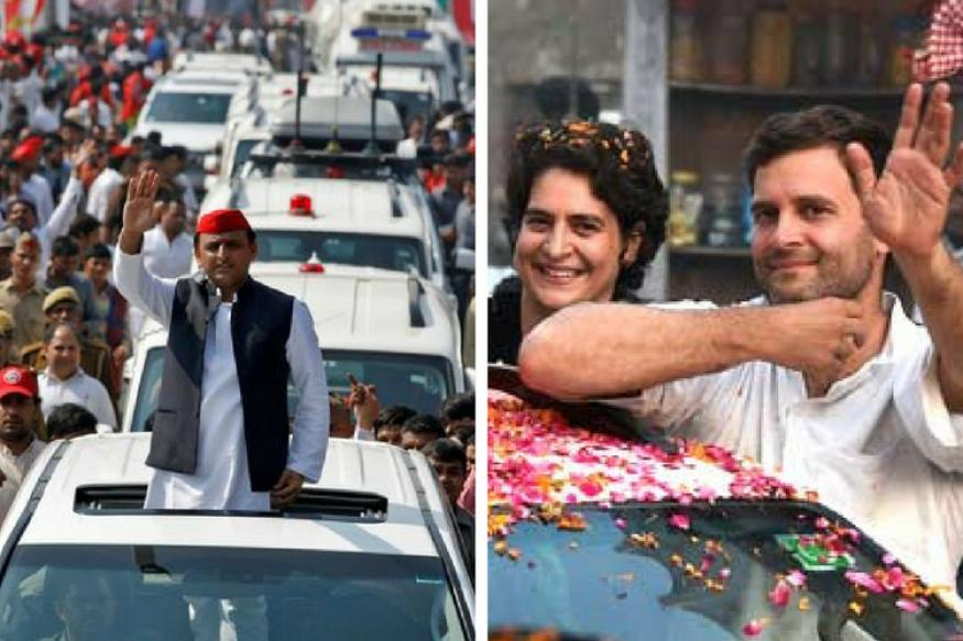 rahul-and-akhilesh-yadav-joint-press-confrence-and-road-show-in-lucknow