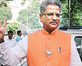 State BJP's dalit leader to command, Om Prakash Mathur in central politics, Sunil Bansal's power will increase