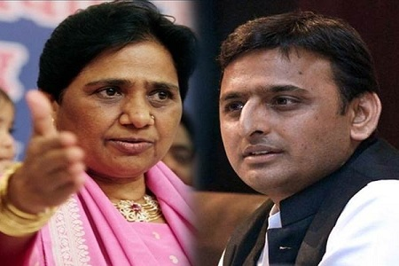 mayawati akhilesh yadav together in up politics