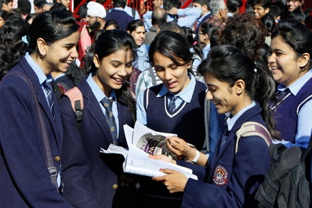 CBSE results declared 2017