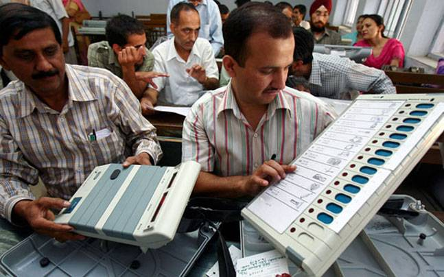 Fault in EVM while voting, a shocking report
