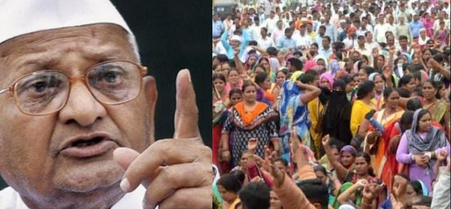 Education women will not get justice if countrywide movement - Anna Hazare