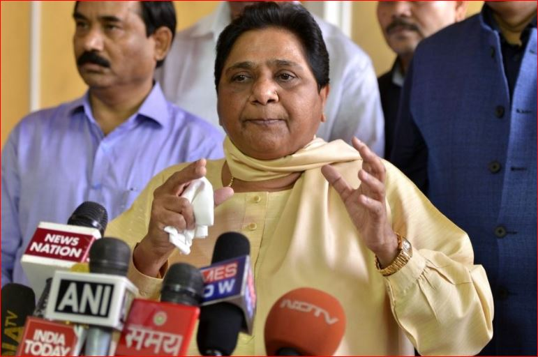 bsp supremo attack over narendra modi