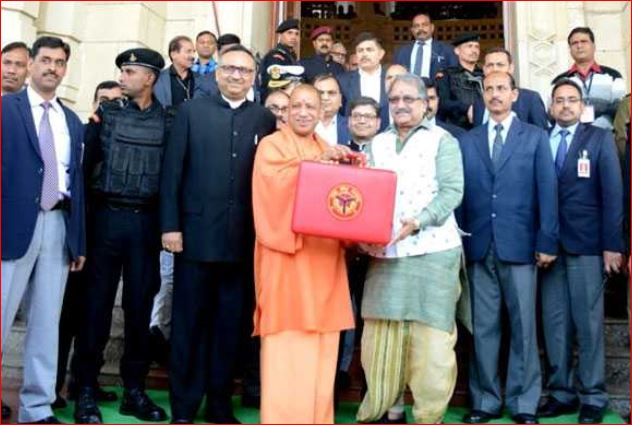 yogi govermnet first buget in up assembly 2018-19