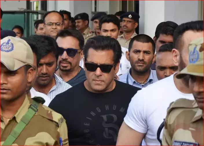 live: Salman Khan gets punishment for so five years