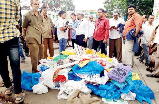 BMC fined 3,90,000 rupees from plastic bay