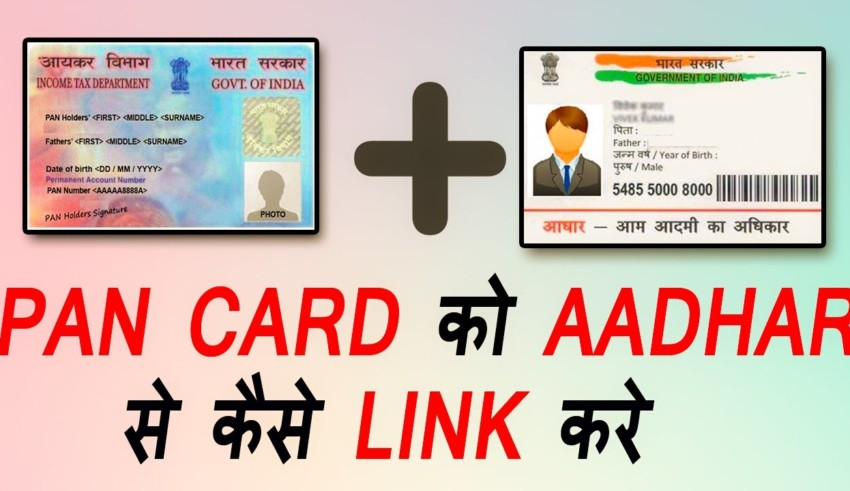 Todays date of linking base-PAN card, such link