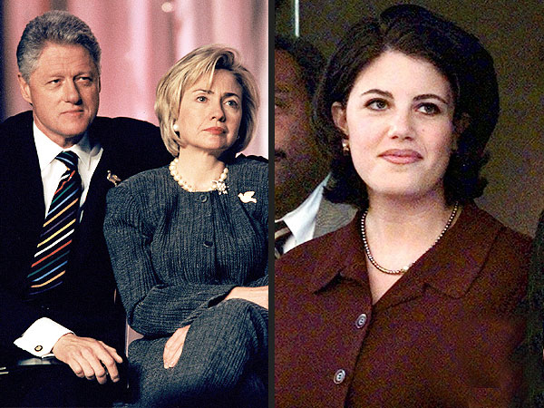 Hilary did her husband Bill Clinton's defense, Monica did not abuse power