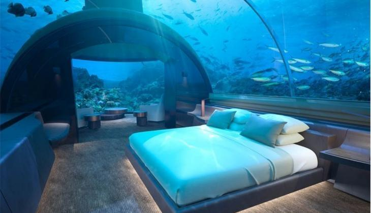 Celebrate Holidays in this luxurious house under the sea