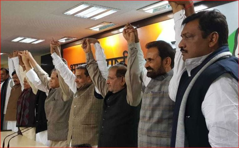 Upendra Kushwaha becomes part of a grand alliance, made a press conference