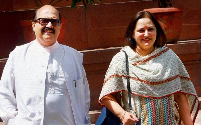 Amar Singh is Godfather and who told Jaya Prada villain