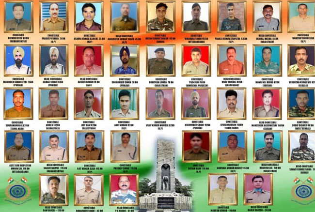Tribute to martyr jawans