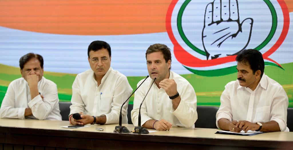 Rahul Gandhi did announce the world's largest economic plan
