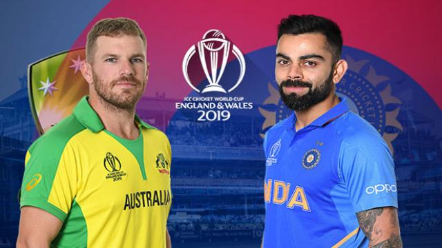world cup cricket 2019 ind vs aus