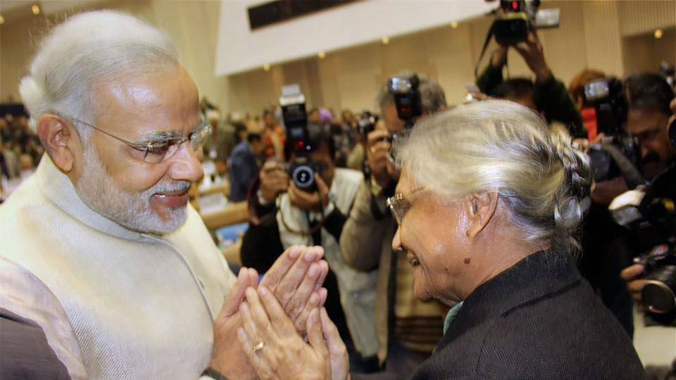 Many leaders, including Prime Minister Modi and Rahul Gandhi, mourn the death of Sheila Dikshit
