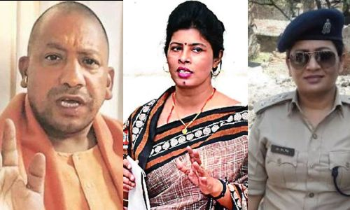 Swati Singh who threatened Chief Minister Yogi Adityanath with CO, DGP asks for report