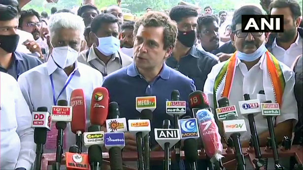 Government is not ignoring farmers but conspiring to ruin them- Rahul Gandhi