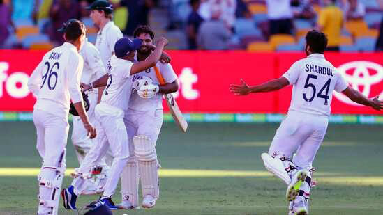 India made history in Brisbane, dust dusted to AUS, won series 2-1